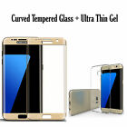 Samsung Galaxy S8 Plus S7 S6 Edge TPU Case Cover + Tempered Glass 3D Protector <br/> RRP 14.49*ROYAL MAIL 1ST CLASS POSTAGE * New Note 8/S8