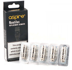 Genuine Aspire Nautilus /Mini BVC Replacement Coils (1.6 / 1.8 Ohm) (5 Pack)
