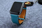 New Genuine Leather Band Single Tour Bracelet Watchband For Apple Watch 38/42mm