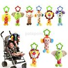 Внешний вид - Toddler Newborn Pram Stroller Rattle Hanging Bell Baby Soft Plush Animal Toy New