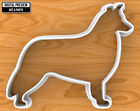 Border Collie Dog Cookie Cutter, Selectable sizes