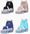 Dot Casual Backpack Lightweight Teen Girls Canvas Backpacks School Laptop Bag 3x