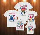 Trolls Birthday shirt Custom personalized white T-shirt for kids and family