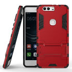 Huawei P9 Plus Dual Layer Rugged Case Shockproof Cover with Kickstand