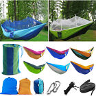 Внешний вид - Portable Two Person Cotton Rope Hanging Hammock Swing Fabric Camping Outdoor Bed