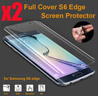 Hot Full Cover Film Screen Protector For Samsung Galaxy S6 Edge Anti-Scratch