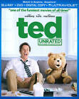 TED (Blu-Ray + DVD + Dig.with Ultraviolet), UNRATED!  BRAND NEW with (FREE SHIP)