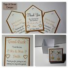 VINTAGE RUSTIC ROMANCE WEDDING :TAGS & FAVOURS;5 designs, 60 colours, any qty