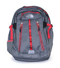 The North Face Womens Pache Grey Heather Rock Ridge Media Friendly Backpack New