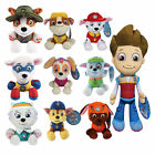 "Hot Paw Patrol Plush Pup Pals 8"" 5"" Skye ROCKY Soft Plush Toy Nickelodeon Dog"