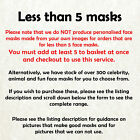 James Corden Celebrity Cardboard Face Mask - Made in UK - Fast Dispatch!