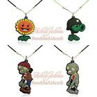 100pcs Plants vs Zombies Pendant Rope Chain Choker Necklace Jerewly Kid Gift