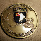 101st Airborne Operation Iraqi Freedom Thank You from Kentucky Challenge Coin