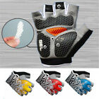 Half Finger Racing Cycling Bike Bicycle Gloves Gel Pad Shockproof Riding Gloves