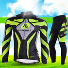 Sports Men Cycling Wear Bike Long Sleeve Clothing Bicycle Set Jersey Pants Suits
