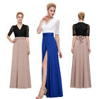 Women Party Bridesmaid Lace Formal Bandage Cocktail Beach Summer Long LONG Dress