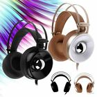 USB 3.5mm Surround Stereo LED Gaming Headset Headband Over-Ear Headphone Fashion