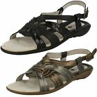 Padders Wide Fitting Ladies Sandals Pandora
