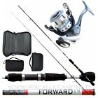 Kit Pesca Spinning Trout Area Canna + Mulinello + Porta Spoon PLE