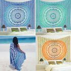 Indian Mandala Tapestry Wall Hanging Hippie Throw Bohemian Queen Bedspread Decor