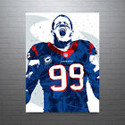 JJ Watt Houston Texans Poster FREE US SHIPPING $15.0 USD on eBay