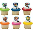 dogs birthday cakes - Paw Patrol Dogs CupCake Cake Topper 12 18 24 Favor Decoration Birthday Fireman *