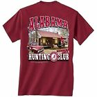 Alabama Crimson Tide T-Shirt - Members Only Hunting Club - Color Crimson