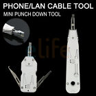 MINI PUNCH DOWN KRONE LAN PHONE CABLE CAT5 CAT6 CAT5a TERMINAL TOOL WITH CUTTER