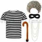 ADULTS COMPLETE LADIES GANGSTA GANGSTER GRANNY FANCY DRESS COSTUME BOOK DAY WEEK
