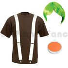 LADIES ADULTS UMPA LUMPA OOMPA LOOMPA FANCY DRESS COSTUME WILLY WONKA OUTFIT
