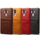 Peapod® Vintage Faux Leather 2 Card Slot Rear Case Back Cover for Huawei Mate 9