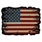 Distressed & Antiqued American Flag Patch, Patriotic Patches