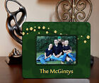 "4""x6"" PHOTO FRAME - IRISH SHAMROCK 1 ADD NAME OR TEXT FREE - Family Gift Picture"