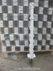 White 3FT Poly Posts Packs of 10 - 50 Stakes & 20mm Electric Fence Tape Option