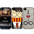 Coque Harry Potter Hard Case All Apple Iphone 4 5 6 7 7+ 8 8+ 10 X