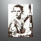 Star Wars Rey Poster FREE US SHIPPING $19.31 CAD on eBay