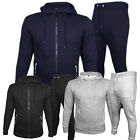 NEW MENS TRACKSUIT SET FLEECE HOODIE TOP BOTTOMS JOGGING SKINNY SLIM TRACKSUIT