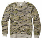 NEW MILITARY MULTICAM MULTI CAM  CAMOUFLAGE PATTERN  SWEATER SWEAT SHIRT