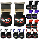 Max5 Power Weight Lifting Gym Strap Hook Bar Staps Bar Wrist Support Lift Gloves