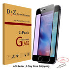 2x Tempered Glass Anti Blue Ray Screen Protector Guard Shield For iPhone 7 Plus