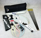 """White 70"""" Core Archery Pro Take Down Recurve Bow & Complete Package"""