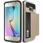 Galaxy S6 Edge+ Wallet Case,Hybrid Case with Pocket for Samsung Galaxy S6 Edge+