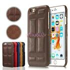 New Chocolates Style Genuine Leather Back Case Microfiber Inner Cover for iPhone