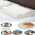Orthopaedic MEMORY FOAM CONTOUR PILLOW Free Cover Neck Back Shoulder Support