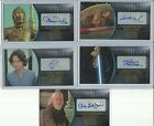2016 Topps Star Wars Attack Clones 3D Widevision Gold Autograph Card #ed / 10 $79.95 USD on eBay