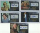 2016 Topps Star Wars Attack Clones 3D Widevision Gold Autograph Card #ed / 10 $349.95 USD on eBay