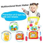 Popular Baby Walker Multifuctional Toddler Trolley Sit-to-Stand ABS Musical Walk
