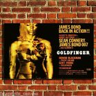BOND GOLDFINGER MOVIE FILM CANVAS WALL ART BOX PRINT PICTURE SMALL/MEDIUM/LARGE £34.99 GBP on eBay