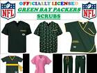 GREEN BAY PACKERS SCRUB TOP-GREENBAY PACKERS SCRUB PANTS-GREENBAY PACKERS SCRUBS on eBay