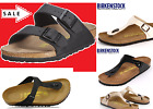BIRKENSTOCK ARIZONA Black or Arizona Soft Footbed ALL SIZES or Gizeh Black 35 46